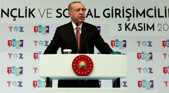 Cumhurbaşkanı Erdoğan gençlere müjdeyi verdi