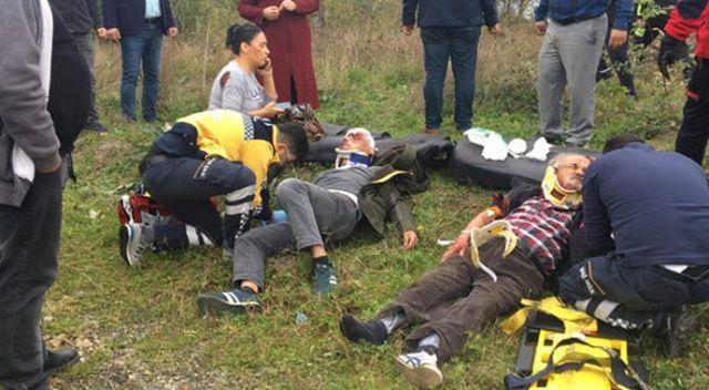 Ereğli'de feci kaza! Şoka girdiler…