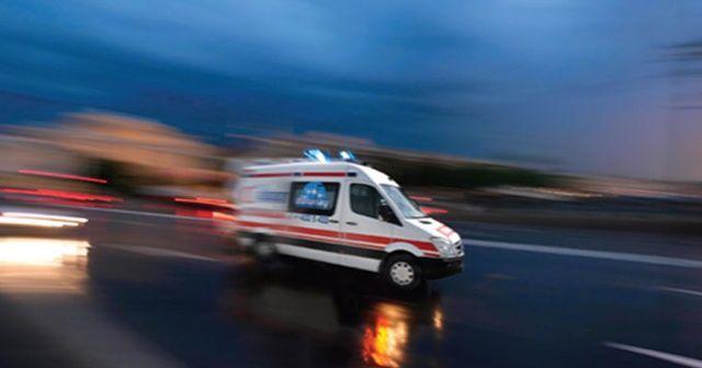 Hadımköy'de hafriyat kamyonu devrildi, şoförü öldü