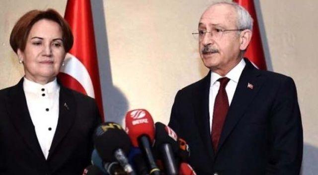 Kılıçdaroğlu ile Akşener'in görüşmesi sona erdi