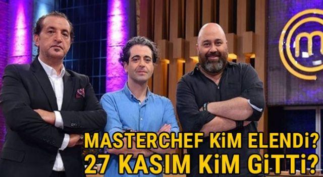 Masterchef kim elendi, 27 Kasım kim gitti? 27 Kasım Master Şef'te elenen yarışmacı kim oldu?