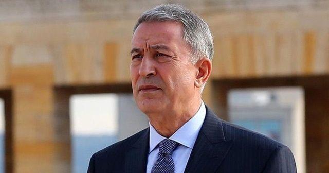 Milli Savunma Bakanı Akar'dan Hakkari'deki patlamayla ilgili açıklama