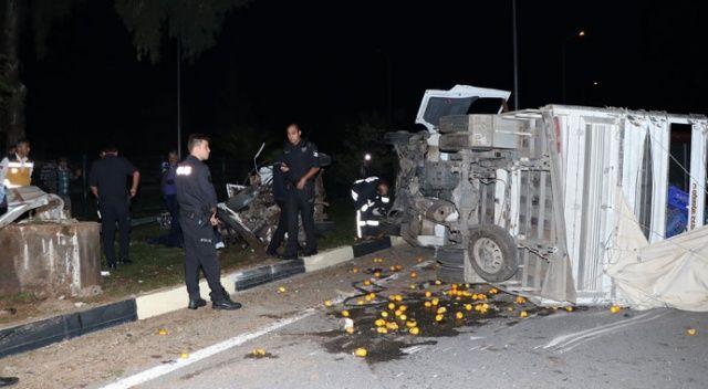 Muğla'da feci kaza: 2 ölü