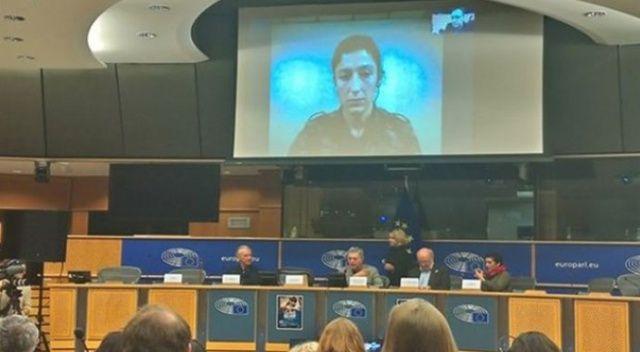 PKK'lı teröristin belgeseli AP'de yayınlandı