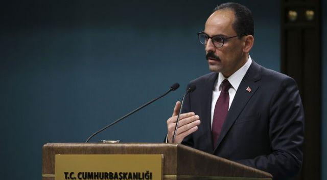 Sözcü Kalın: PKK-PYD ayrımı yapılamaz