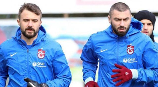 Trabzonspor'da Onur Kıvrak ve Burak Yılmaz süresiz kadro dışı bırakıldı!