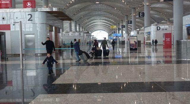 """Türkiye'de ilk! İstanbul Havalimanı'nda """"akıllı teknoloji"""" farkı..."""