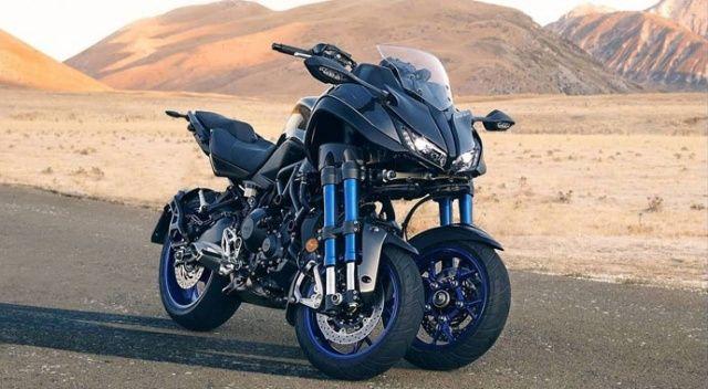 Yamaha'dan üç tekerlekli viraj canavarı