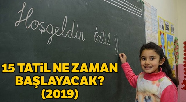 15 tatil ne zaman başlayacak? Sömestr Tatili Ne Zaman belli oldu! İşte Okullar ne zaman kapanacak' ile ilgili MEB'in açıklaması...