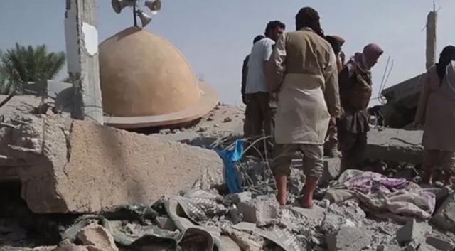 ABD Deyrizor'da yine cami vurdu