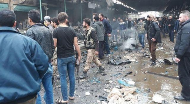 Afrin'de bombalı saldırı! Ölü ve yaralılar var