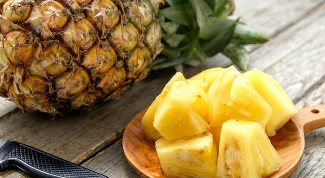 Bağışıklığınızı ananasla güçlendirin