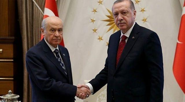 Bahçeli'den 'Erdoğan ile görüşme' açıklaması