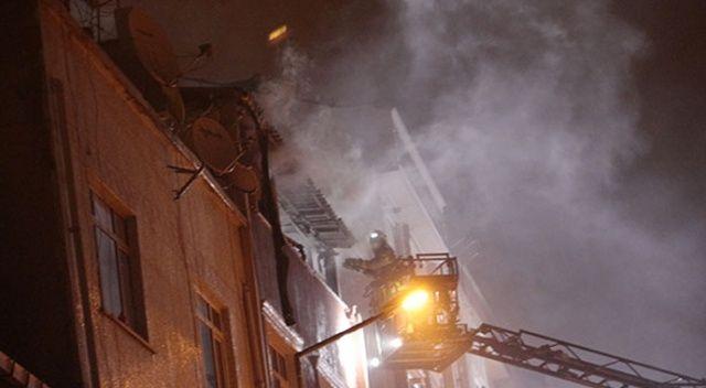 Bayrampaşa'da yangın: 4'ü çocuk, 7 kişi yaralandı