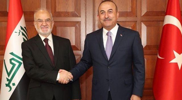 Çavuşoğlu, Irak Dışişleri Bakanı Caferi ile görüştü