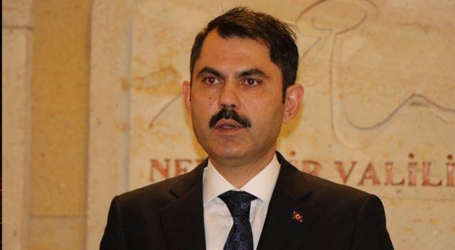 """Çevre ve Şehircilik Bakanı Kurum: """"9 milyon kişi imar barışına başvurdu"""""""