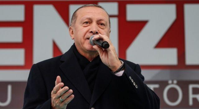 Cumhurbaşkanı Erdoğan: Açtıkları çukurları kendilerine mezar edeceğiz