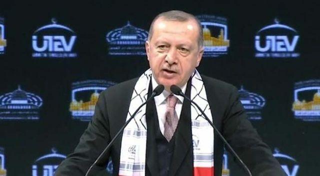 Cumhurbaşkanı Erdoğan'dan Kudüs resti: Silemeyeceksiniz!