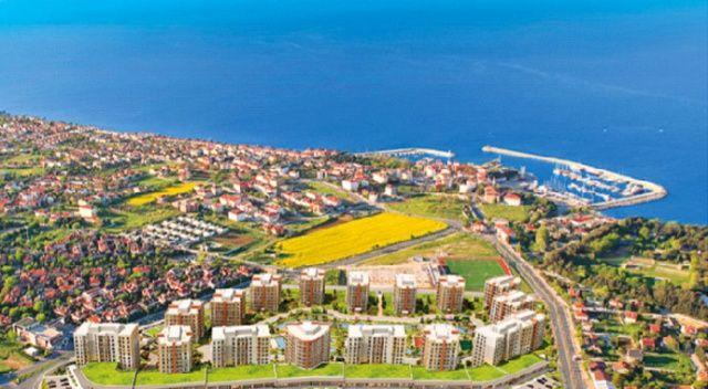 Denize açılan pencereleriyle Güzelce'de site hayatı