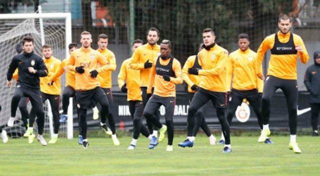 Galatasaray ara vermeden çalıştı