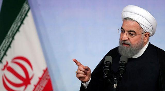 Hasan Ruhani: 'İran'a uygulanan yaptırımlar, size geri dönebilir'