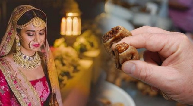 Hint düğününe ballı incir