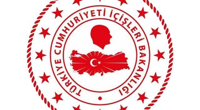 İçişleri Bakanlığı'na yeni logo