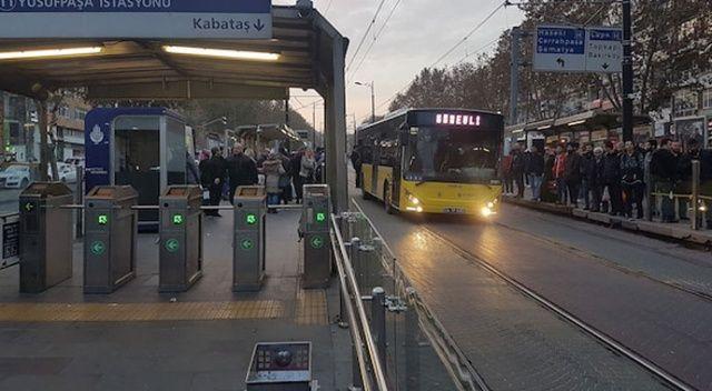 İstanbul'da tramvay arıza yaptı! Seferlerde aksama yaşandı