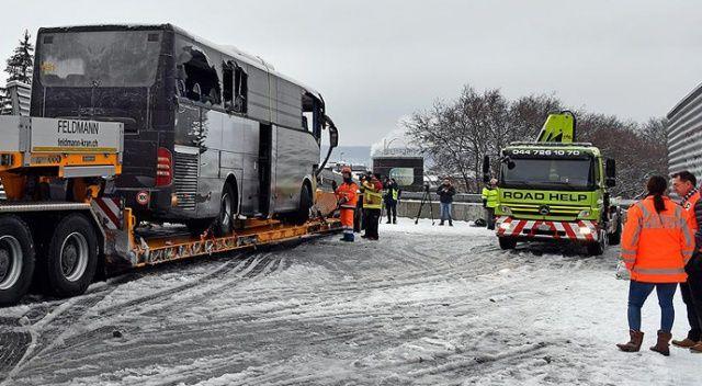 İsviçre'de turistleri taşıyan otobüs kaza yaptı: 1 ölü, 44 yaralı
