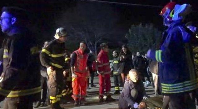 İtalya'da gece kulübünde panik ve izdiham: 6 ölü, 120 yaralı