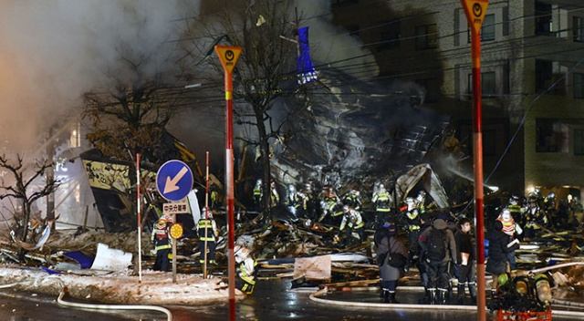 Japonya'da restoranda patlama: En az 20 kişi yaralandı