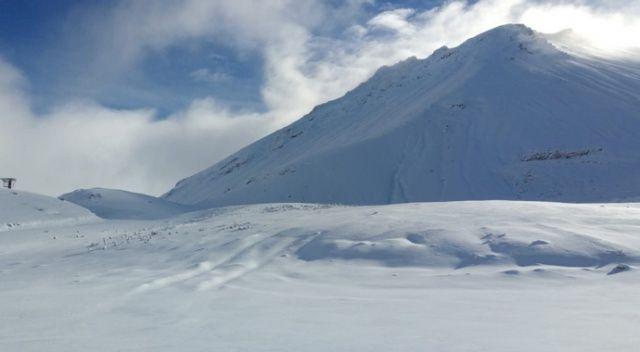 Kar kalınlığı 13 cm'e ulaştı