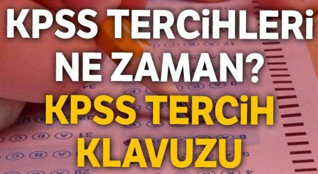 KPSS tercih kılavuzu, KPSS tercih ne zaman | ÖSYM 2018/2 KPSS Ortaöğretim Önlisans tercih kılavuzu TIKLA