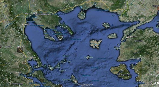 Kuzey Ege Denizi'nde gemiler çatıştı!