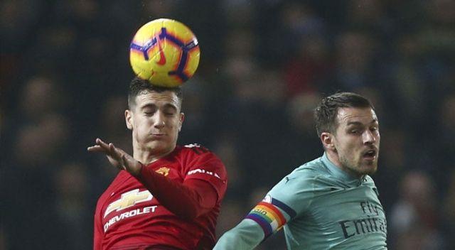 Manchester United - Arsenal maçında kazanan çıkmadı