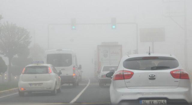 Mardin'de sis etkili oldu
