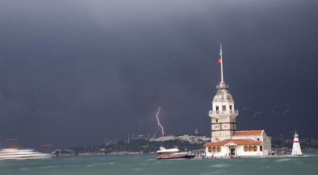 Marmara'da fırtına ve kar uyarısı