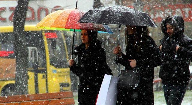Marmara'da karla karışık yağmur bekleniyor