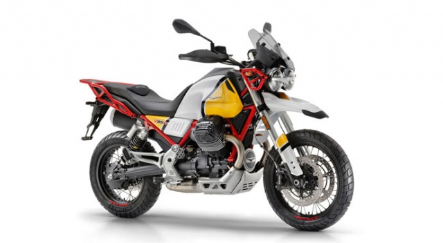 Moto Guzzi'den Enduro yorumu