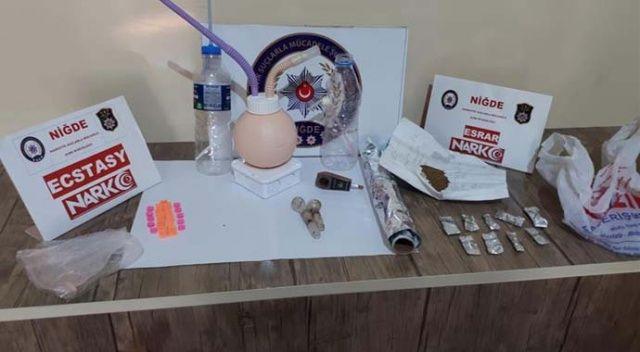 Niğde merkezli uyuşturucu operasyonunda 9 kişi tutuklandı