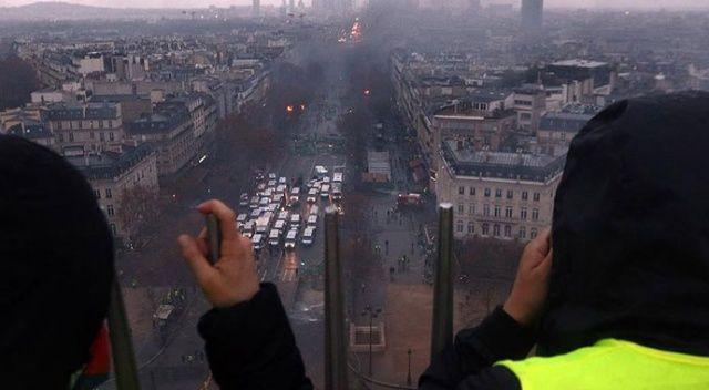 Paris'te cumartesi günü hayat duracak