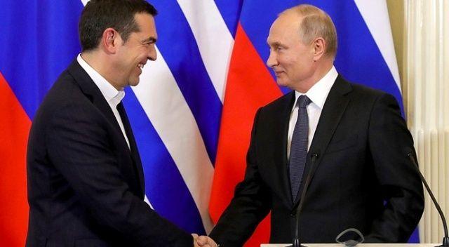 Putin'den Yunanistan'a 'TürkAkım' mesajı