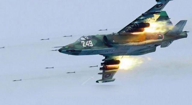 Rus yapımı savaş uçağı Ermenistan'da düştü!