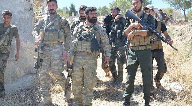Suriyeli muhalif Milli Ordudan Türkiye'ye destek