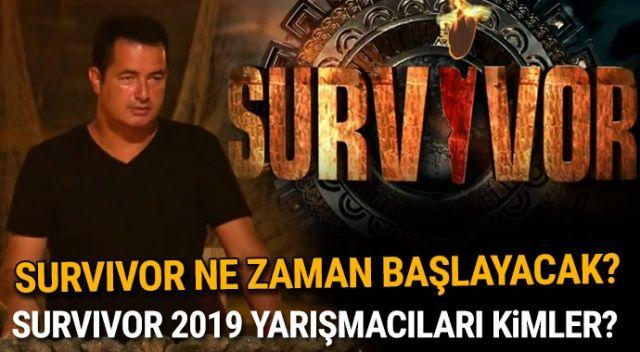 Survivor 2019 yarışmacıları kimler? Survivor ne zaman başlayacak? 2019 Survivor kadrosu belli oldu mu, Survivor adayları kimler oldu?