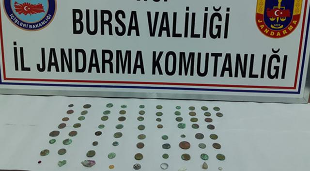 Tarihi eserleri satmak için Bursa'ya geldi, kıskıvrak yakalandı