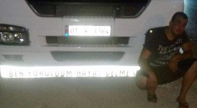 Tır şoförü arkadaşını çekiçle öldürdü, kaçarken tır çarptı öldü