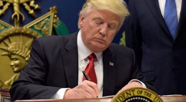 Trump, Başkanlık Talimatnamesini resmen imzaladı