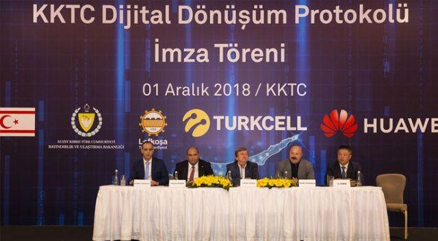 Turkcell ve Huawei'den KKTC'de dijital iş birliği