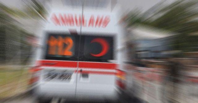 Zonguldak'ta arabalar çarpıştı, 6 kişi yaralandı